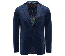Jersey-Sakko dunkelblau gemustert