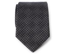Krawatte beige/schwarz gemustert