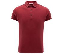 Jersey-Poloshirt rot