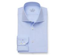 Business Hemd 'Rivara Tailor Fit' Haifisch-Kragen hellblau