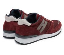 Sneaker 'R261' bordeaux/hellgrau