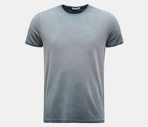 HerrenRundhals-T-Shirt 'Robin' graublau
