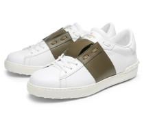 Sneaker weiß/oliv