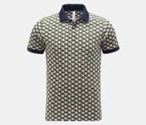 Poloshirt grün/gelb