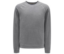R-Neck Sweatshirt grau