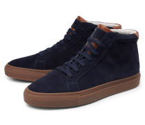 High-Top Sneaker navy/braun