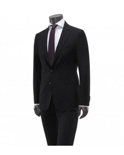 giorgio armani herren giorgio armani anzug 39 soho 39 schwarz reduziert. Black Bedroom Furniture Sets. Home Design Ideas