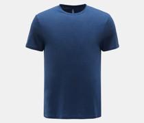 HerrenRundhals-T-Shirt graublau