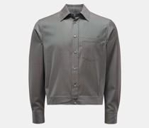Overshirt navy/beige
