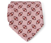 Krawatte altrosa gemustert