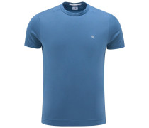 R-Neck T-Shirt blau