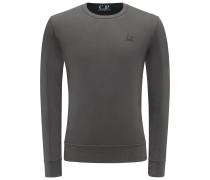 R-Neck Sweatshirt dunkelgrau