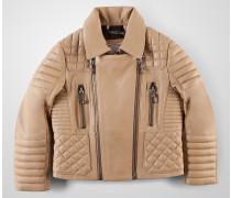 """leather jacket """"nobody"""""""