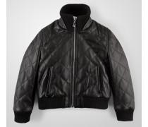 """leather jacket """"keep it"""""""