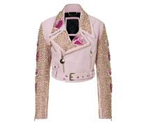 """leather jacket """"rose"""""""
