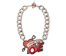 "necklace ""love plein"""