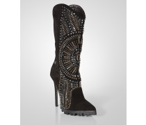 """high boot """"zipper boot"""""""