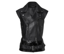"leather vest ""run the world"""