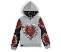 "hoodie sweatshirt ""my hearth is open"""