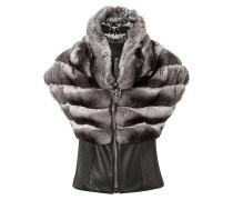 "fur vest ""glam"""