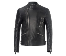 """leather jacket """"the perfect mix"""""""