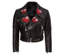 "leather jacket ""for love"""