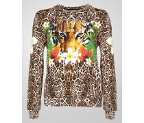 "sweatshirt ""flowered leo"""