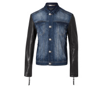 "denim jacket ""adore me"""