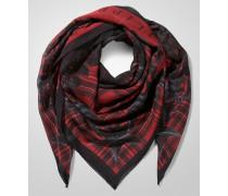 """silk scarf """"wild west"""""""