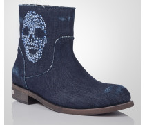 """ankle boots """"old skull"""""""
