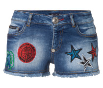 "denim shorts ""stars fall"""