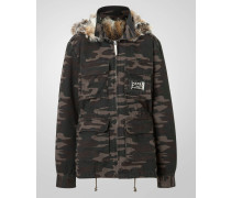 "parka ""camouflage girl"""