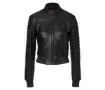 """leather jacket """"rather die young"""""""