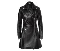 "leather coat ""luxurious"""