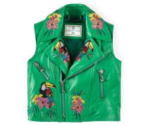 """leather vest """"amazon life"""""""