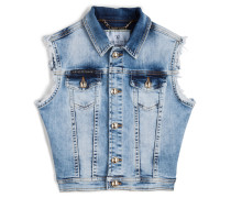 "denim vest ""softness"""