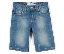 "denim shorts ""trouble"""
