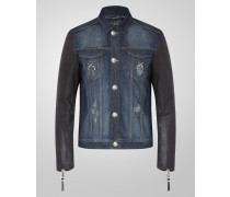 "denim jacket ""handcrefted denim"""