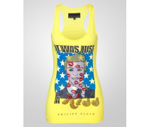 "tank top ""just a kiss"""