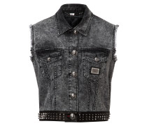 "denim vest ""barbarians"""