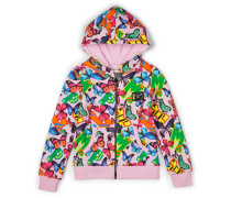 "hooded jacket ""passion for fashion"""