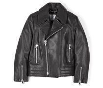 "leather jacket ""in love"""