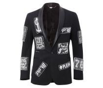 """studded blazer """"sticky"""""""