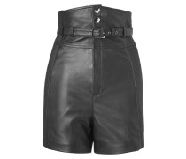 """leather skirt """"is fine"""""""