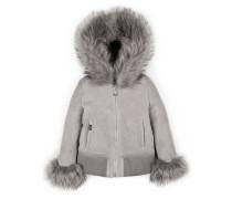 "hooded jacket ""as far as"""