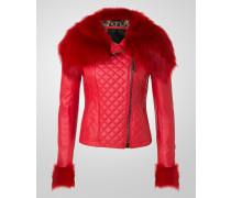 """leather jacket """"massumi"""""""