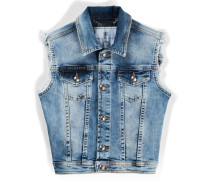 "denim vest ""honey"""