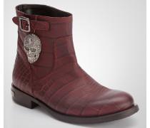 """ankle boot """"skull"""""""