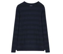 Jersey Shirt Sue Blau Schwarz Gestreift