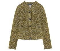 Tweed Blazer Senf Grau